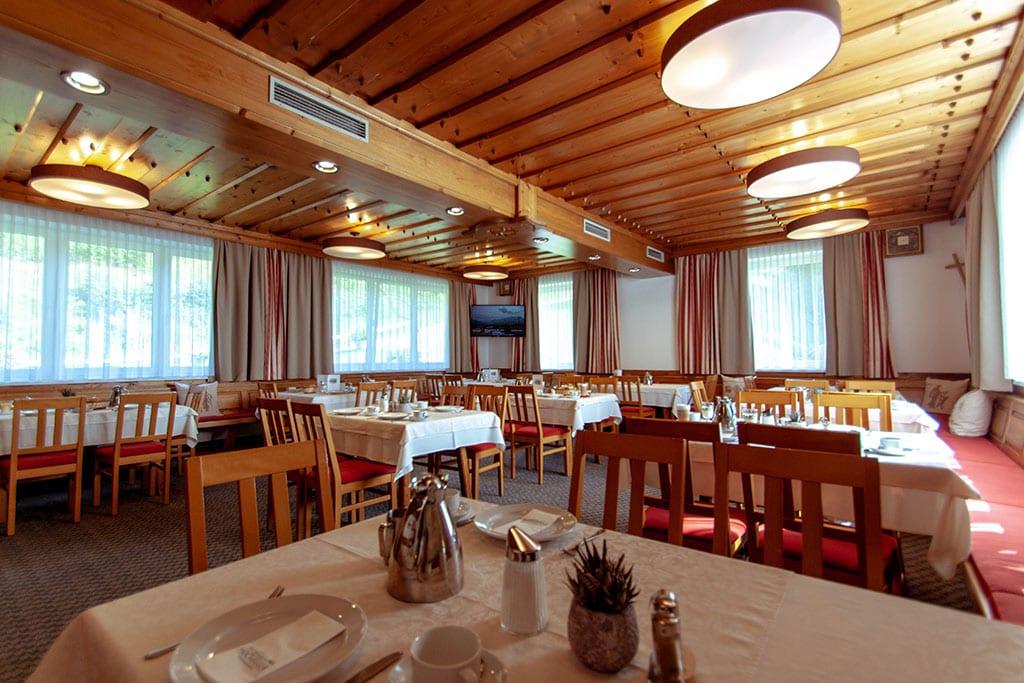 Speisesaal Veranstaltungsraum Hochegger Klippitztörl