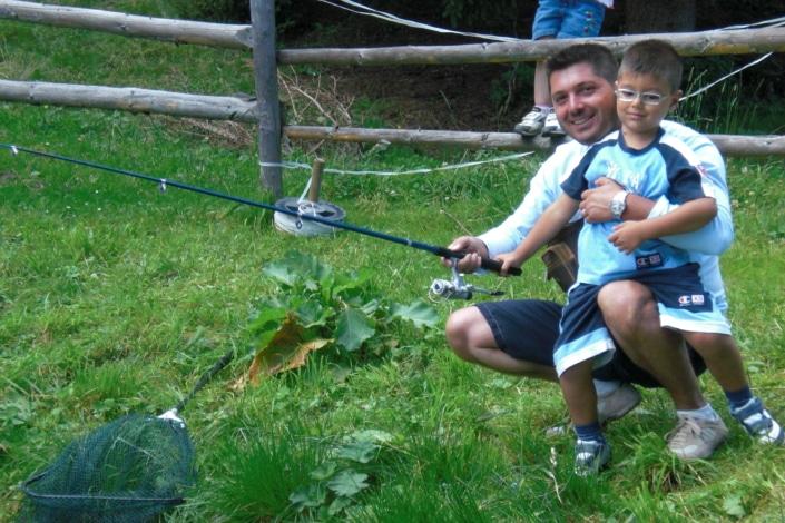 Kinderprogramm Familienurlaub Klippitztörl Fischen Österreich