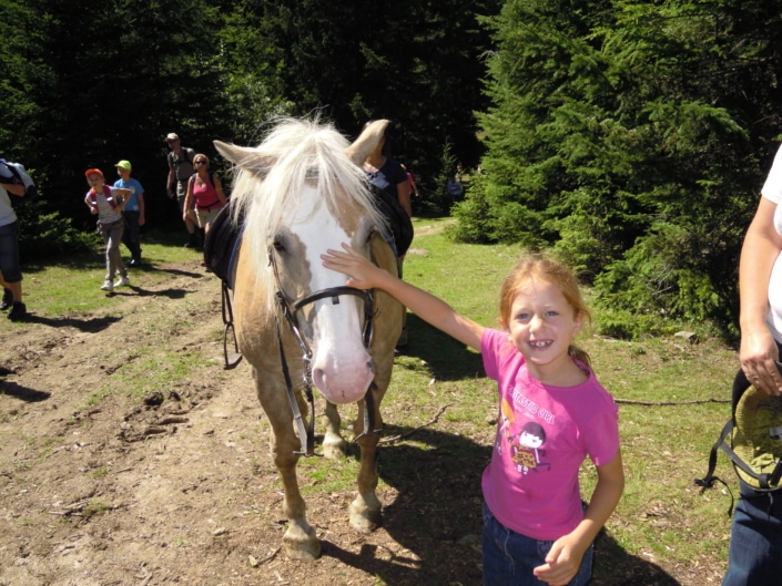 Kinderprogramm Familienurlaub Reiten Klippitztörl