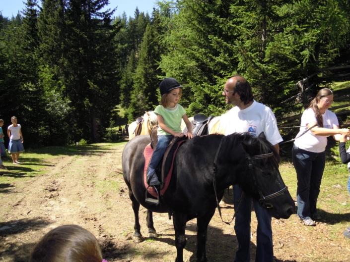 Urlaub mit Kindern Reiten Klippitztörl Kärnten