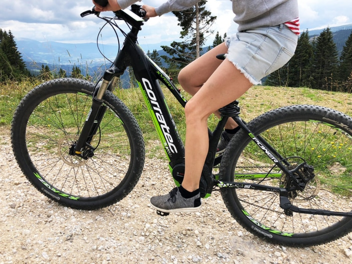 E-Bikes gratis im Sommer ausborgen im Hotel Hochegger