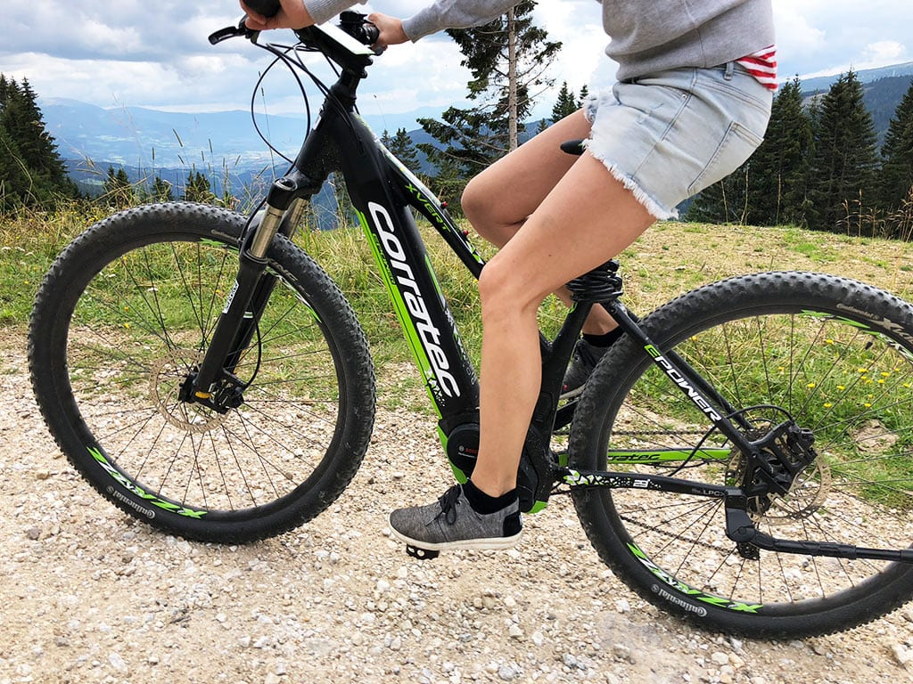 E-Bikes im Sommer ausborgen im Hotel Hochegger