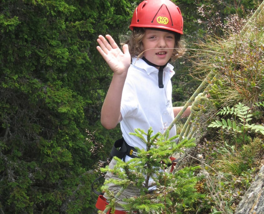 Klettern mit Lehrwart Kinderprogramm Hochegger Klippitztörl