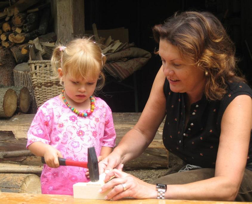 Kinderprogramm Klippitztörl Hochegger Sommerurlaub