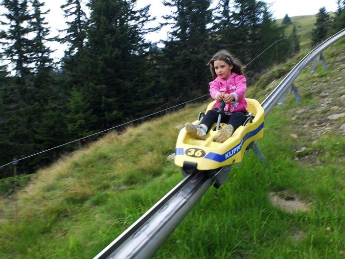 Sommerrodelbahn Klippitztörl Kärnten Familienurlaub