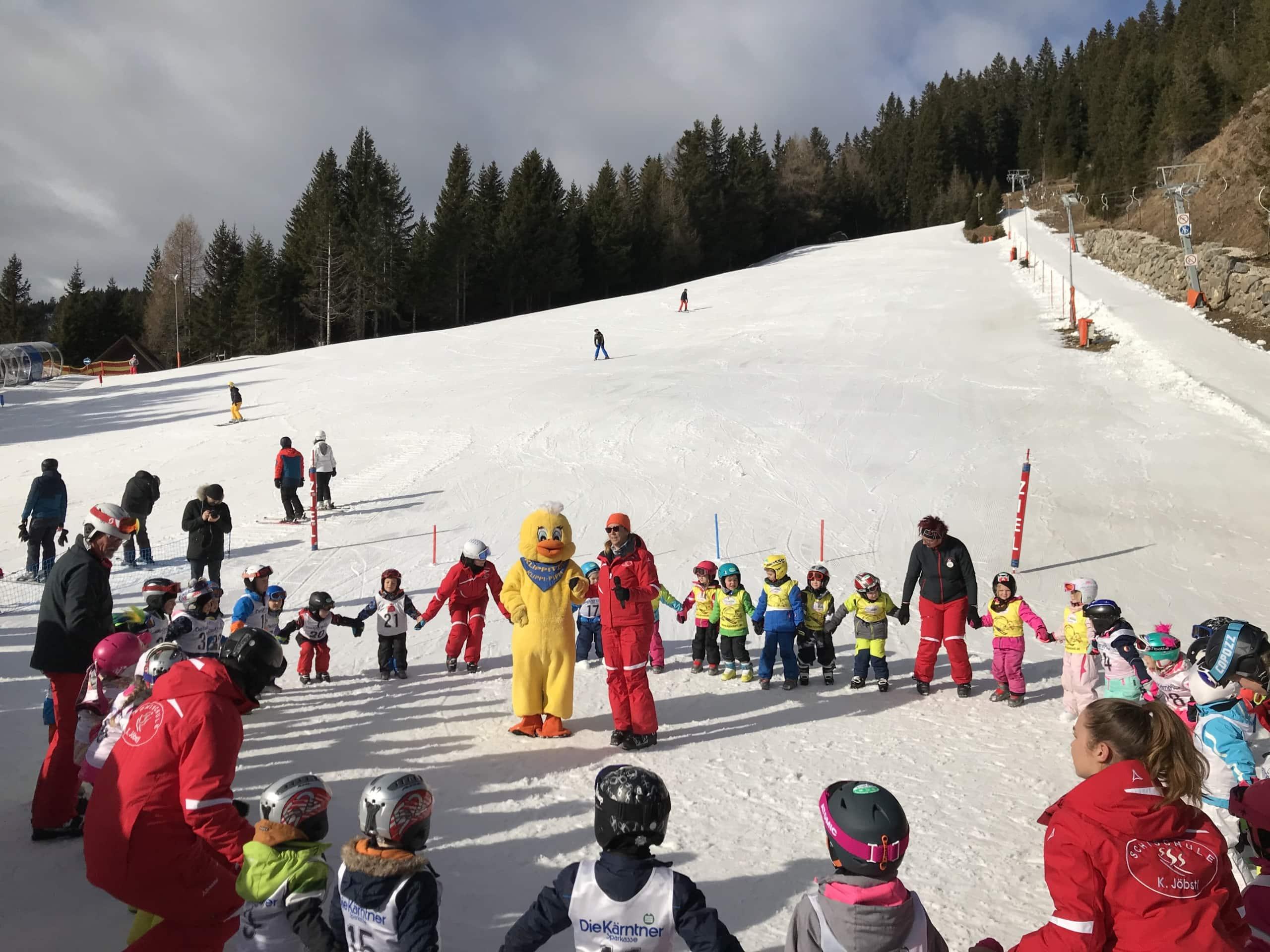 Kinderskicenter, Skischule,
