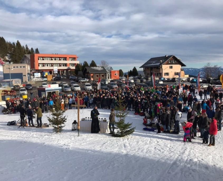 Weihnachten Klippitztörl Schnee Winter Kärnten