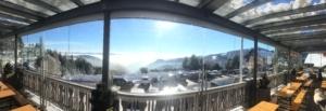 Terrasse, Hotel Hochegger, Klippitztörl