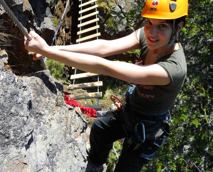 parco d'arrampicata carinzia klippitztörl arrampicare