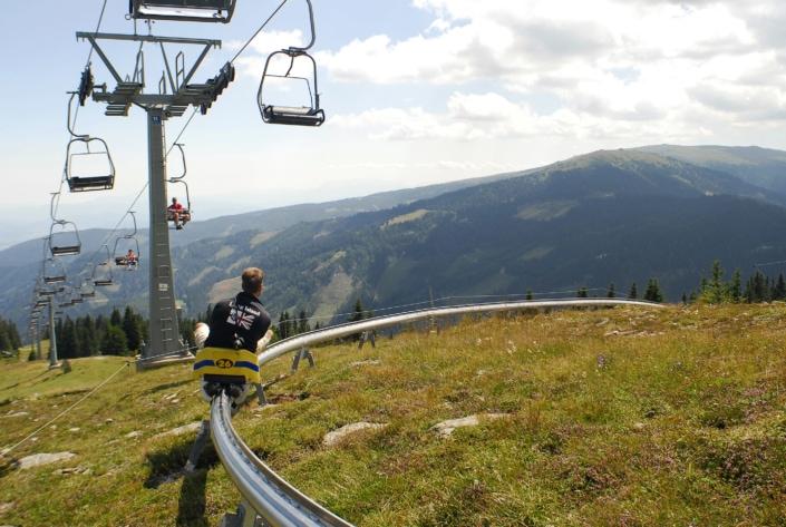 Sommerrodelbahn Kärnten Klippitztörl
