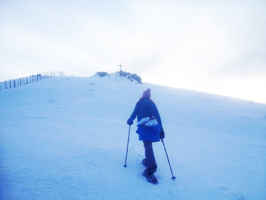 Schneeschuhwandern in Kärnten