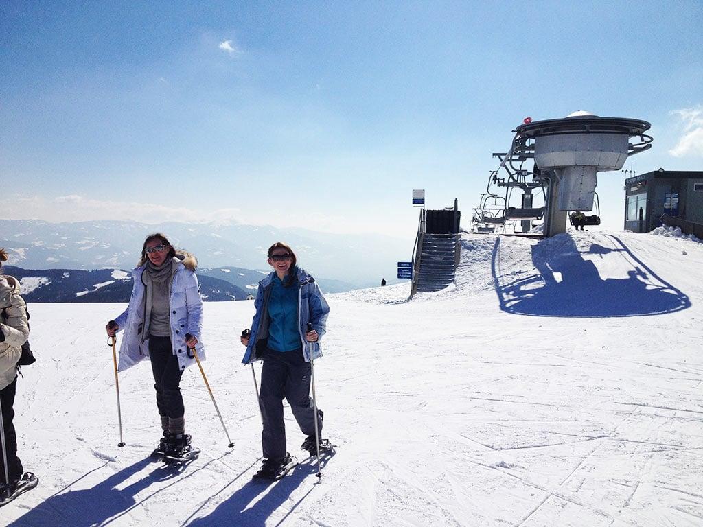 Schneeschuhwanderung am Klippitztörl