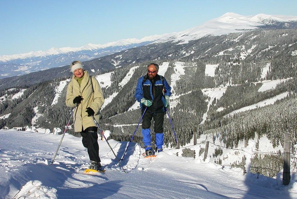 Schneeschuh Wanderung Klippitztörl Kärnten