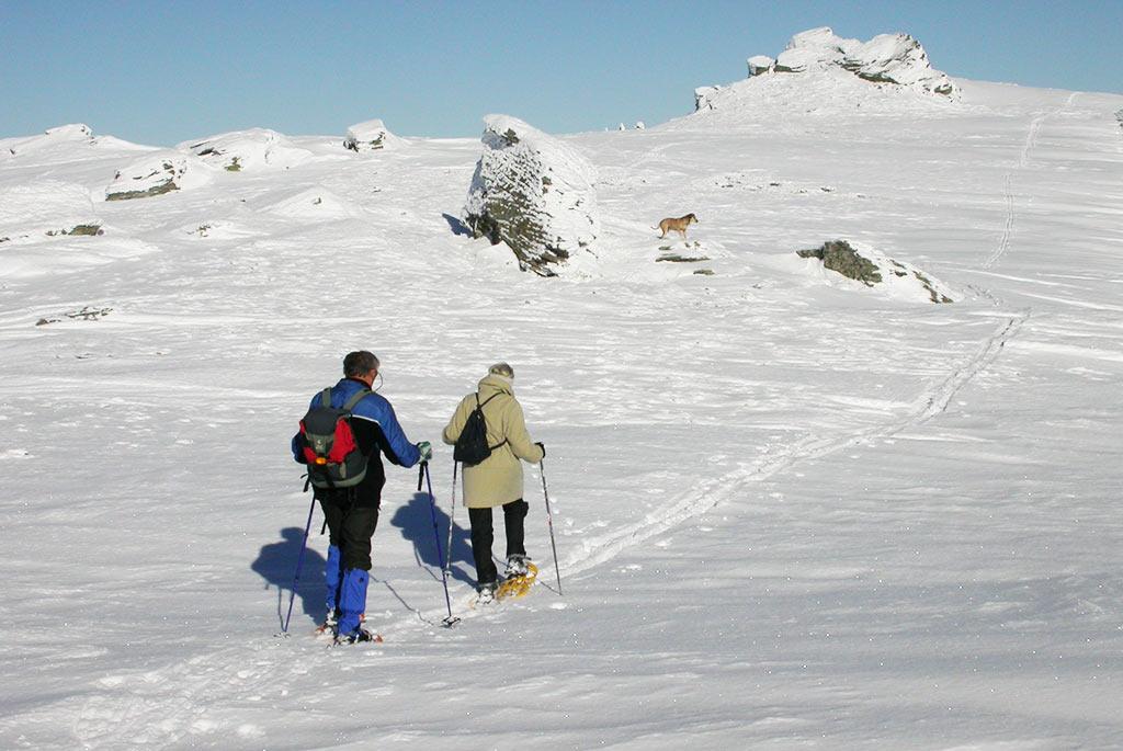 Schneeschuh Wanderung Klippitztörl