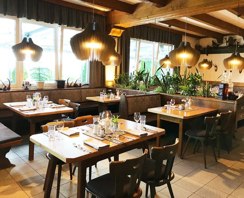 Hotel Hochegger Stube Esszimmer Barraum