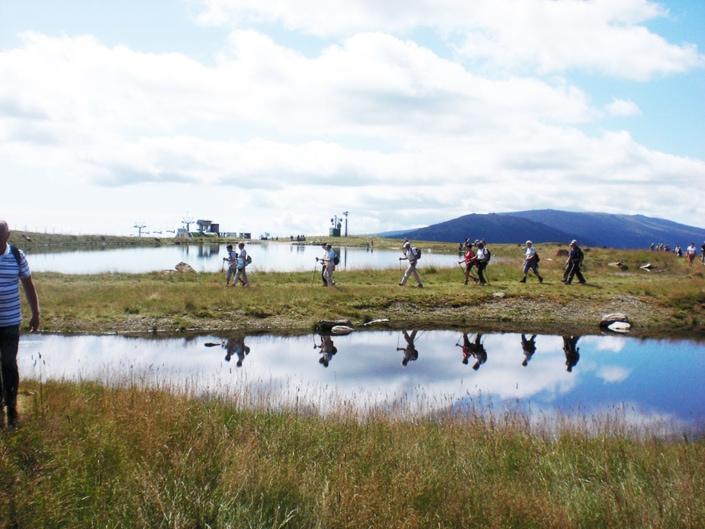 Wanderparadies Klippitztörl in Gruppen und Familien mit Führung