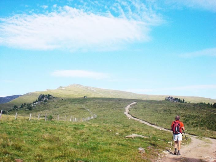 Schöne Aussichten und Ruhe am Berg am Klippitztörl in Kärnten