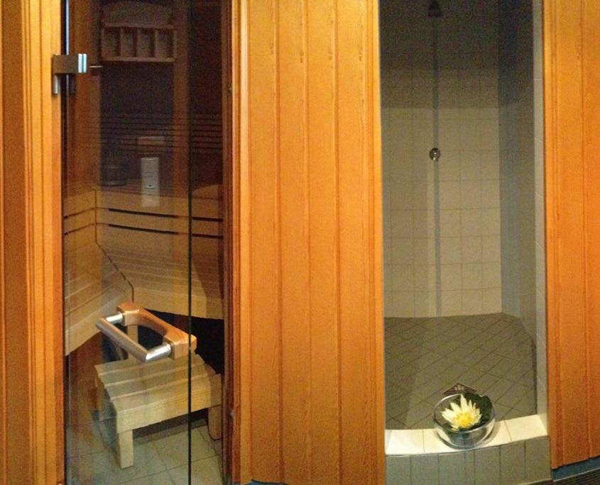 Wellnesoase Dampfbad Sauna Hochegger