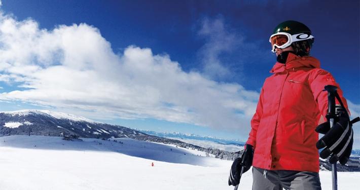 Ausblick am Klippitztörl im Winter