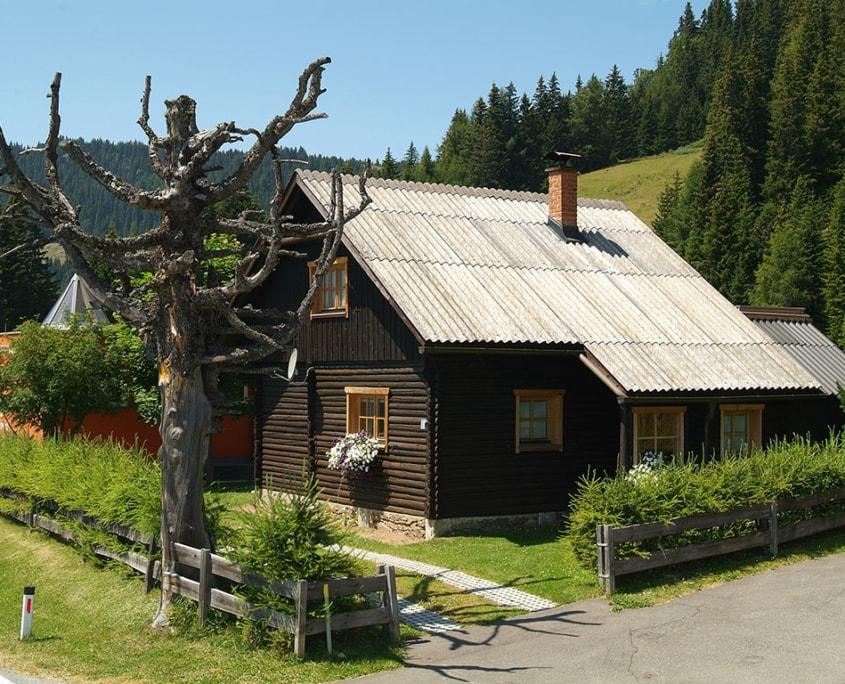 Klippitzhütte Sommerurlaub Kärnten Klippitztörl